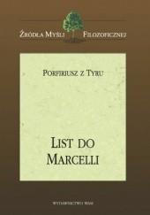 Okładka książki List do Marcelli Porfiriusz z Tyru