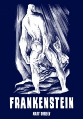 Okładka książki Frankenstein Mary Shelley