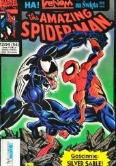 Okładka książki The Amazing Spider-Man 12/1994 David Michelinie,Mark Bagley