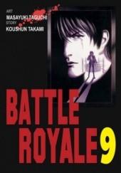Okładka książki Battle Royale 9 Koushun Takami,Masayuki Taguchi