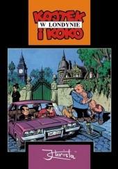 Okładka książki Kajtek i Koko w Londynie Janusz Christa