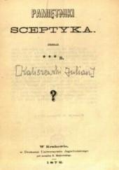 Okładka książki Pamiętniki sceptyka Julian Kaliszewski