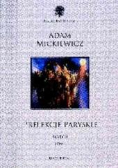 Okładka książki Prelekcje paryskie. Wybór. Tom I. Adam Mickiewicz
