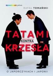 Okładka książki Tatami kontra krzesła Rafał Tomański