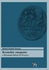 Okładka książki Rzymskie zmagania o Hiszpanię Dalszą 49–45 p.n.e. Michał Norbert Faszcza