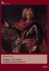 Okładka książki Poniec 7 XI 1704. Kampania jesienna Karola XII Damian Płowy