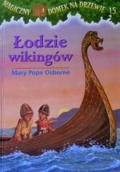 Okładka książki Łodzie wikingów Mary Pope Osborne