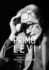 Okładka książki Ocalały. Wybór wierszy/Il superstite. Poesie scelte Primo Levi