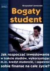 Okładka książki Bogaty student Krzysztof Jaworski