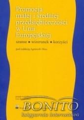 Okładka książki Promocja małej i średniej przedsiębiorczości w Unii Europejskiej Agnieszka Hess
