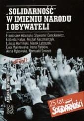 Okładka książki Solidarność w imieniu narodu i obywateli Marek Latoszek