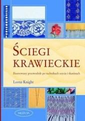 Okładka książki Ściegi krawieckie. Ilustrowany przewodnik po technikach szycia i tkaninach Lorna Knight
