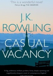 Okładka książki Casual Vacancy J.K. Rowling