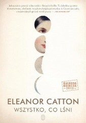 Okładka książki Wszystko, co lśni Eleanor Catton