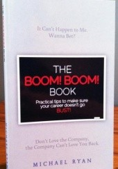 Okładka książki The Boom Boom Book Michael Ryan