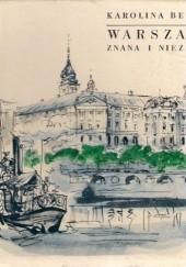 Okładka książki Warszawa znana i nieznana Karolina Beylin
