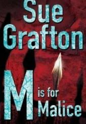 Okładka książki M is for Malice Sue Grafton
