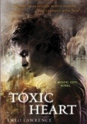 Okładka książki Toxic Heart Theo Lawrence