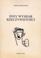 Okładka książki Inny wymiar rzeczywistości Piotr Stróżyński