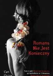 Okładka książki Romans nie jest konieczny Cari Quinn