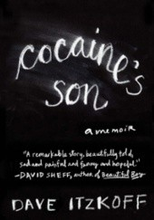 Okładka książki Cocaines son Dave Itzkoff