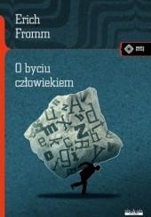 Okładka książki O byciu człowiekiem Erich Fromm
