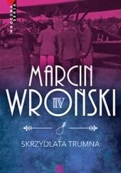 Okładka książki Skrzydlata trumna Marcin Wroński