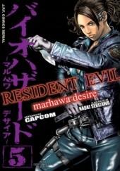 Okładka książki Resident Evil #5 Naoki Serizawa,Capcom