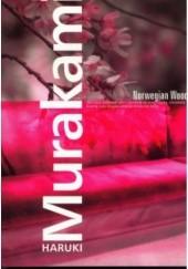 Okładka książki Norwegian Wood Haruki Murakami