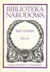 Okładka książki Wybór pism Erazm z Rotterdamu