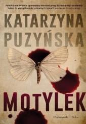 Okładka książki Motylek Katarzyna Puzyńska