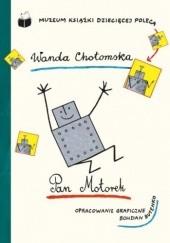 Okładka książki Pan Motorek Wanda Chotomska