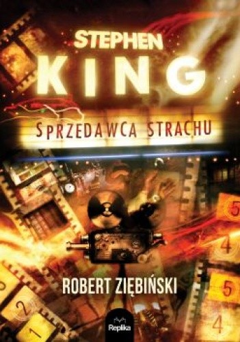 Okładka książki Stephen King. Sprzedawca strachu