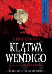 Okładka książki Klątwa Wendigo Rick Yancey