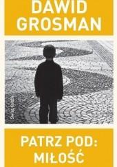 Okładka książki Patrz pod: Miłość Dawid Grosman