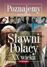 Okładka książki Poznajemy. Sławni Polacy XX wieku