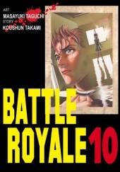 Okładka książki Battle Royale 10 Koushun Takami,Masayuki Taguchi