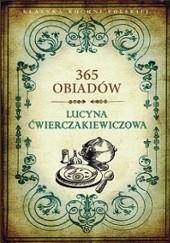 Okładka książki 365 obiadów Lucyna Ćwierczakiewiczowa