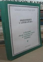 Okładka książki Przestrzeń i literatura praca zbiorowa,Michał Głowiński,Aleksandra Okopień-Sławińska
