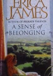 Okładka książki A Sense of Belonging Erica James