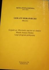 Okładka książki Marek Juniusz Brutus i jego program polityczny Lesław Morawiecki