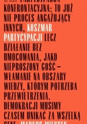 Okładka książki Koszmar partycypacji Markus Miessen
