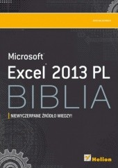 Okładka książki Excel 2013 PL. Biblia John Walkenbach