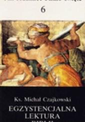 Okładka książki Egzystencjalna lektura Biblii Ks. Michał Czajkowski