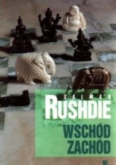Okładka książki Wschód, zachód Salman Rushdie