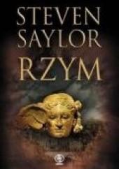 Okładka książki Rzym Steven Saylor