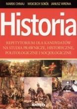 Okładka książki Historia. Repetytorium dla kandydatów na studia prawnicze, historyczne, politologiczne i socjologiczne