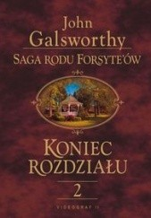 Okładka książki Koniec rozdziału t. II John Galsworthy