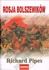 Okładka książki Rosja bolszewików Richard Pipes