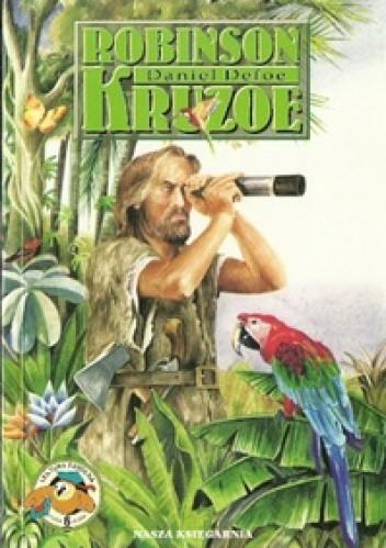 Okładka książki Robinson Kruzoe Daniel Defoe